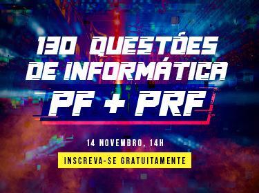 Informática para a PF e PRF