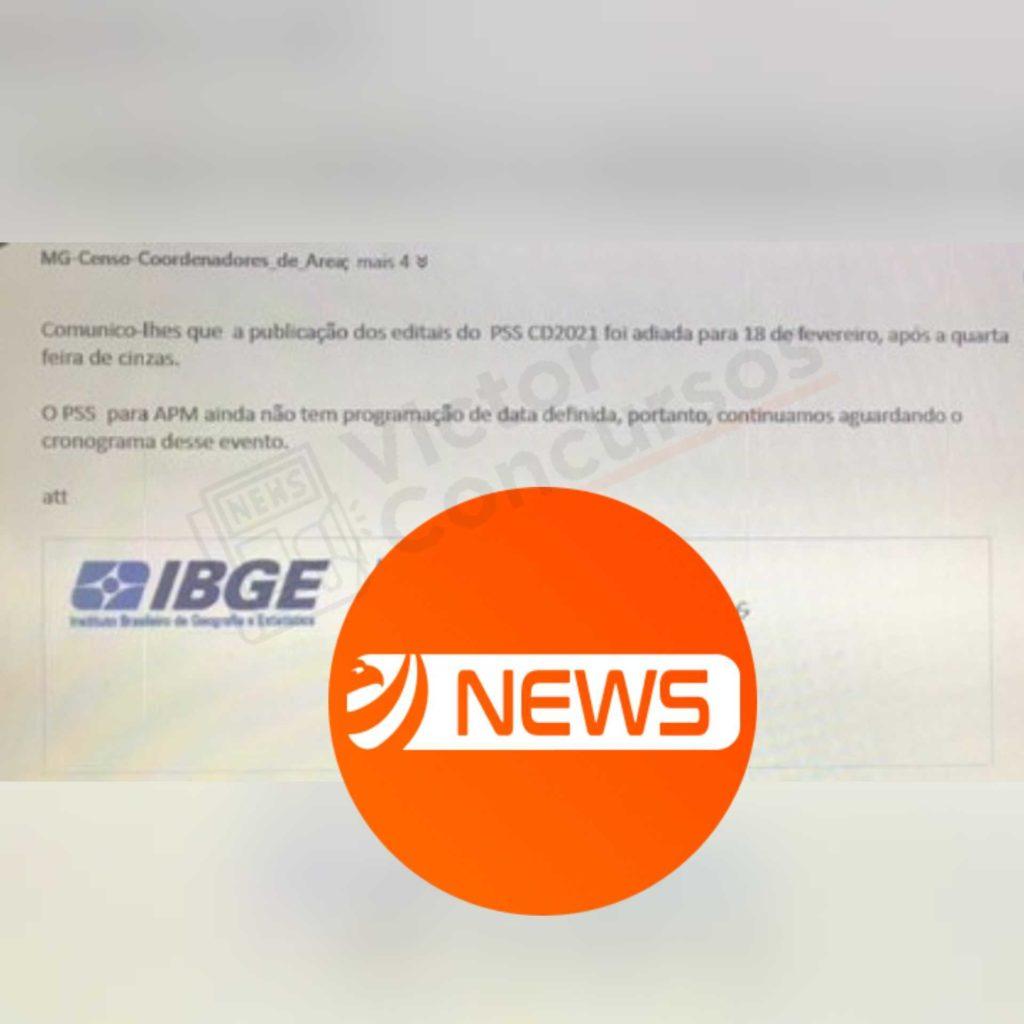 Concurso IBGE 18 de fevereiro