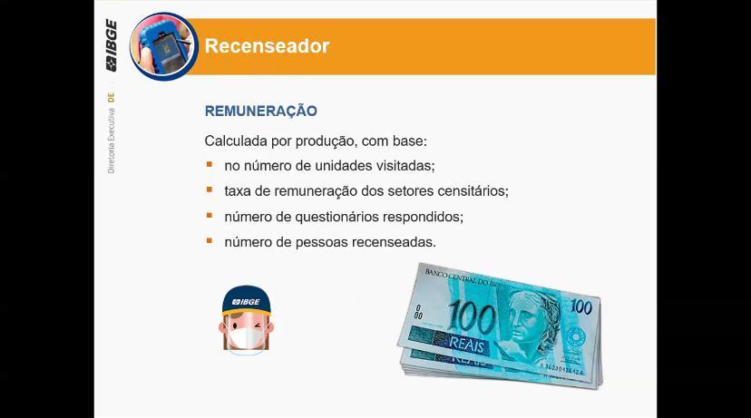 Concurso IBGE salários