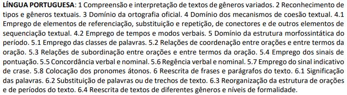 Concurso IBGE - Português