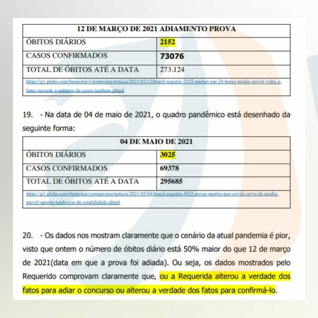 Concurso PRF - suspensão das provas