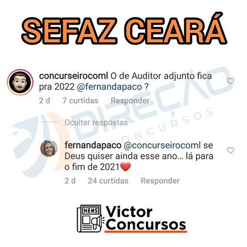 Concurso Sefaz CE: auditor fiscal adjunto
