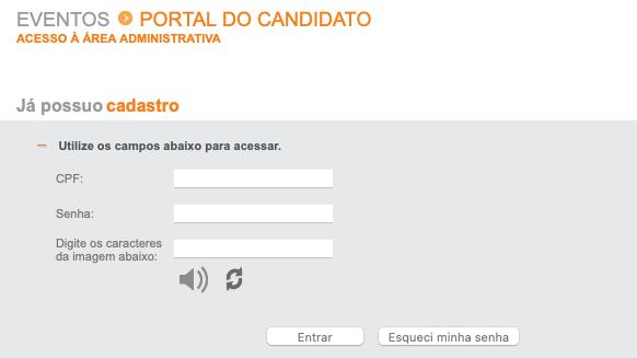 Inscrição Banco do Brasil