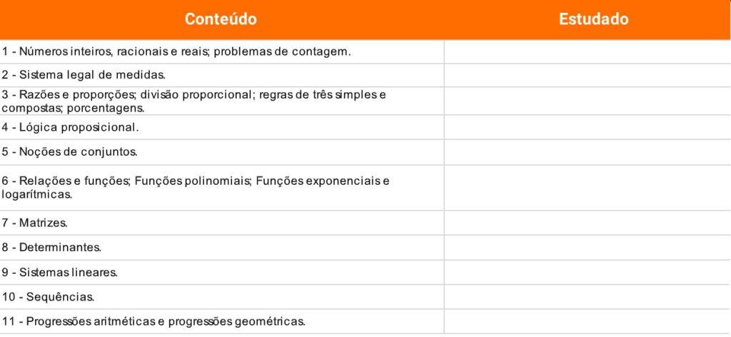 edital verticalizado concurso banco do brasil matemática