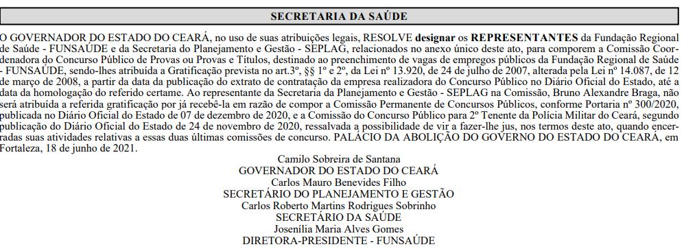 comissão 1